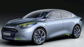 Renault fluence Z.E Concept, prototipo eléctrico de Renault