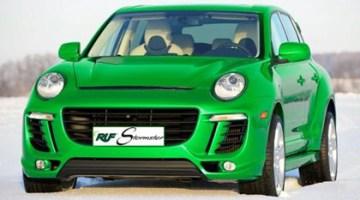 Porsche Cayenne Stormster, preparación eléctrica de RUF