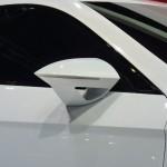 Imagen del retrovisor del seat ibe