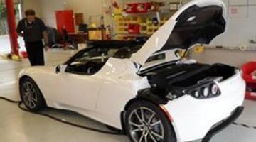 Tesla Roadster, a 200km/h con un deportivo eléctrico