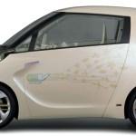 Toyota FT-EV II imagen lateral, render