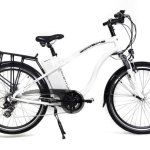 Ecobike Adventure, bicicleta electrica de color blanco