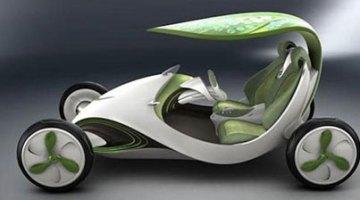 """Saic Leaf, el coche eléctrico que hace la """"fotosíntesis"""""""