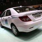 culo del BYD F3DM, coche hibrido enchufable subvencionado