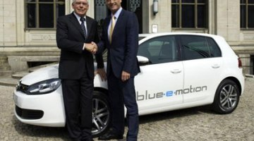 Volkswagen Golf blue-e-motion, el Golf eléctrico
