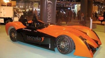 TECNALIA presenta el Dynacar, coche eléctrico que en 10 seg alcanza 140 km/h