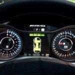 panel del Mercedes SLS AMG e-Cell