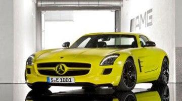 Mercedes-Benz SLS AMG E-Cell, el deportivo eléctrico de Mercedes