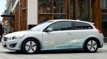 Los 10 primeros Volvo C30 eléctricos en Göteborg