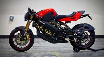 Brammo Empulse, a 160 km/h con una moto eléctrica