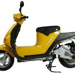 imagen empliada del scooter eléctrico, Oxygen Cargo Scooter