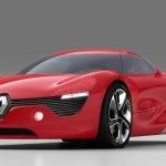 imagen frontal del concept Renault DeZir