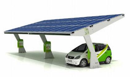 parking solar ParkGreen, de Abast Energía Matural