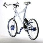 imagen trasera de la bicicleta eléctrica de Lexus, Lexus Hybrid Bycycle Concept