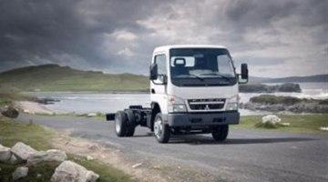 Daimler presenta un prototipo de camión eléctrico, el Canter E-Cell