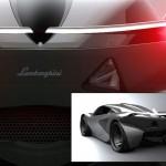 imagen del culo del concepto Lamborghini Minotauro