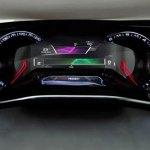 panel informativo del Peugeot HR1
