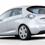 imagen trasera del Renault Zoe