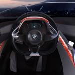 detalle de la cabina en el BMW Vision ConnectedDrive