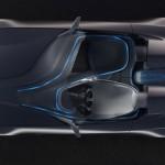 imagen donde apreciamos la división del piloto-copiloto en el Bmw vision connecteddrive