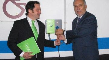 Móstoles presenta sus primeros puntos de recarga para vehículos eléctricos