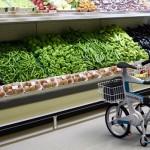 imágen del prototipo Ville, en un supermercado