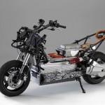 imágen donde se aprecia el cuerpo sin carenado de la BMW E-Scooter
