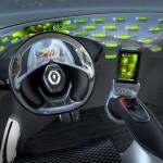zona del conductor del prototipo Renault FRENDZY