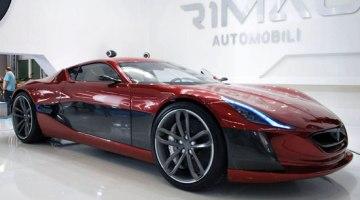 Rimac Concept One, superdeportivo eléctrico