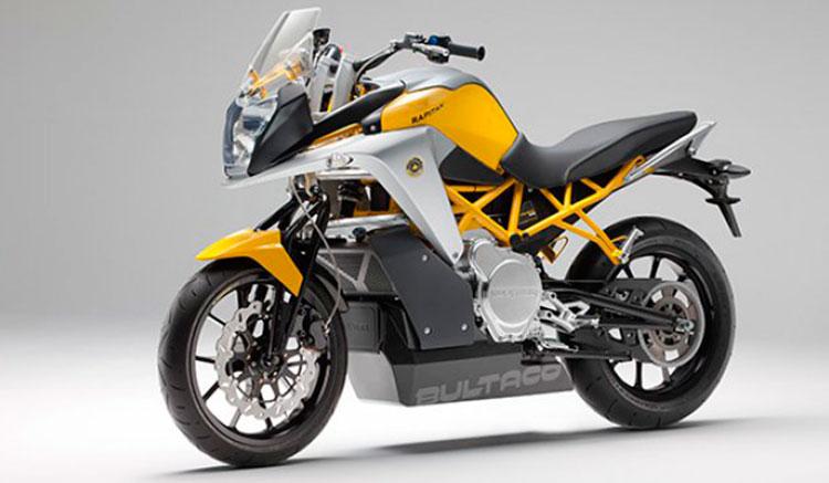 Imagen donde podemos ver el diseño frontal de la Bultaco Rapitán.