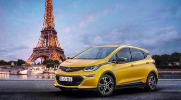 El Opel Ampera-e hará su debut oficial en el Salón de París 2016