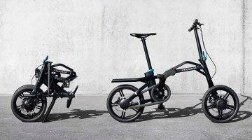 En el Salón de París 2016 se presentará la bicicleta eléctrica plegable Peugeot eF01.