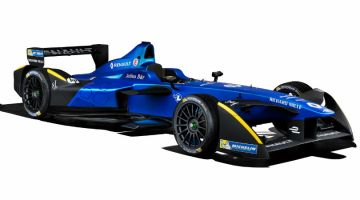 Renault-e.dams presenta nuevo monoplaza de Formula E para 2017