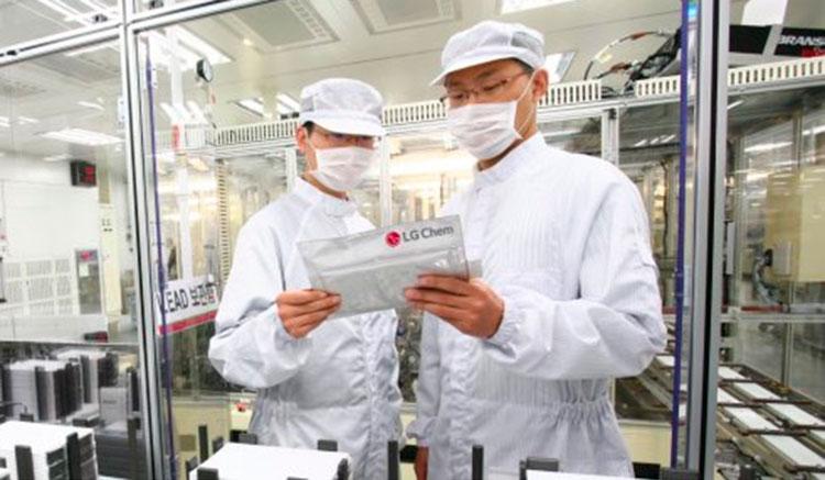 LG fabrica baterías Europa