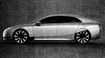 Se filtra la primera imagen del rival chino del Tesla Model S, el Atieva Atvus