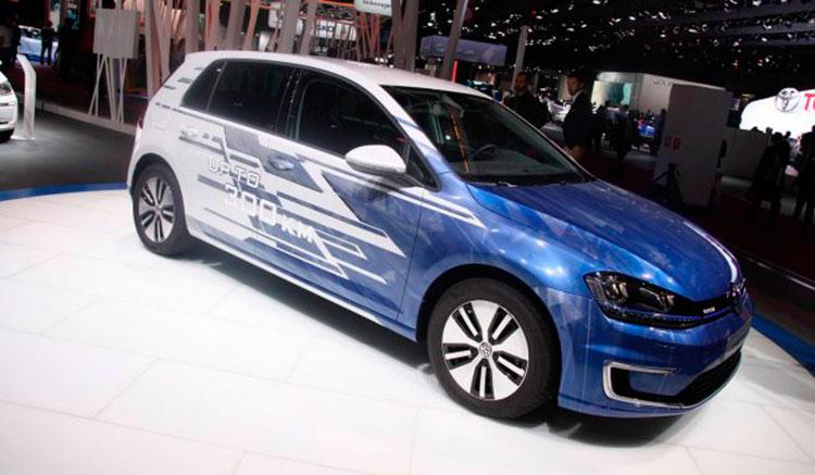 Volkswagen e-Golf 300 km de autonomía