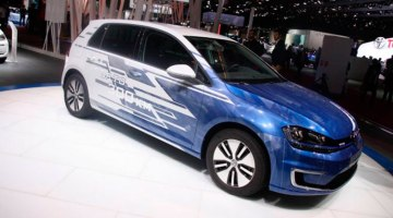 El Volkswagen e-Golf se actualiza. Llegará en 2017 con 300 km de autonomía