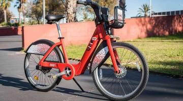 Bicicleta eléctrica del Bicing de Barcelona