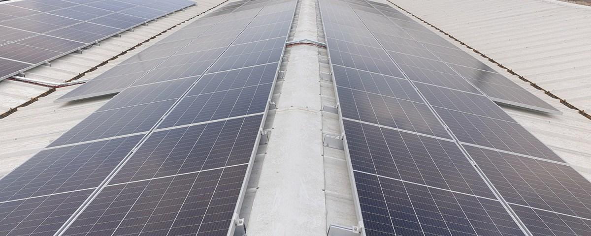 paneles solares este – oeste