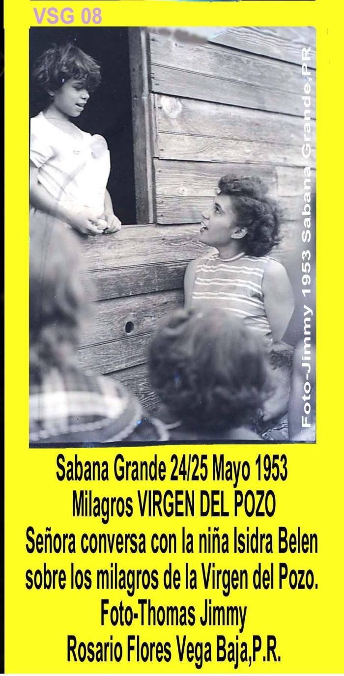 AVSG 17 Actividad Niña conversa Milagros Virgen 1953