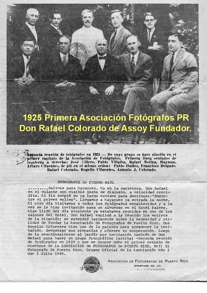 TJRF HISTORIA DE LOS FOTOGRAFOS DE PR 2