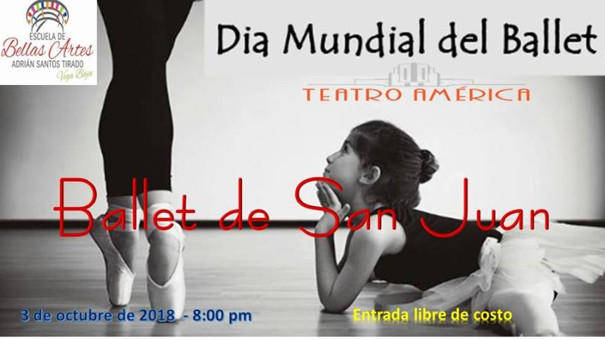 ANUNCIO BALLET DE SAN JUAN 3 OCT 2018