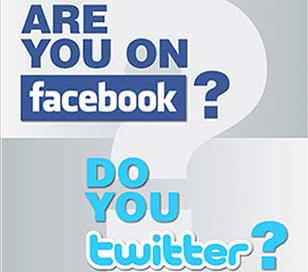 no tweets, no facebook