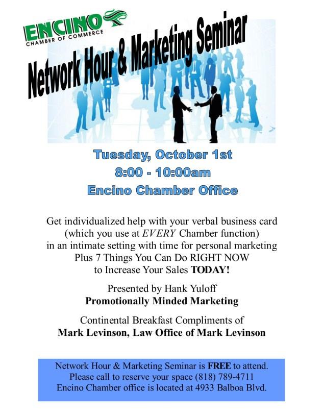 October Network Hour Flyer - DRAFT
