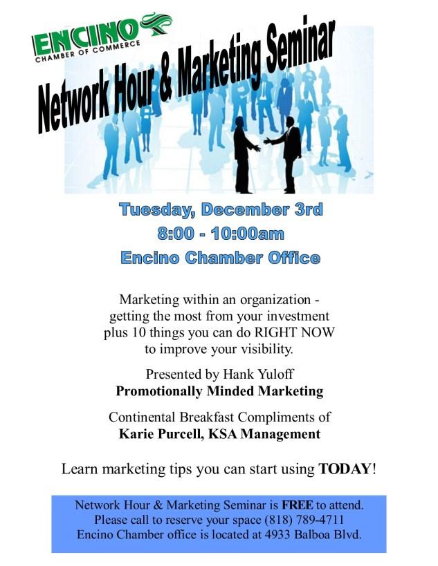December Network Hour Flyer - DRAFT
