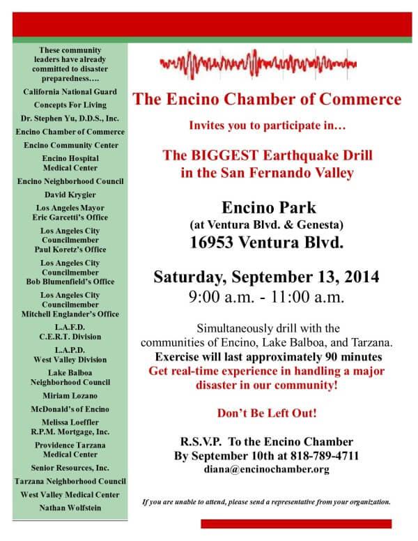 Community Drill September 13, 2014
