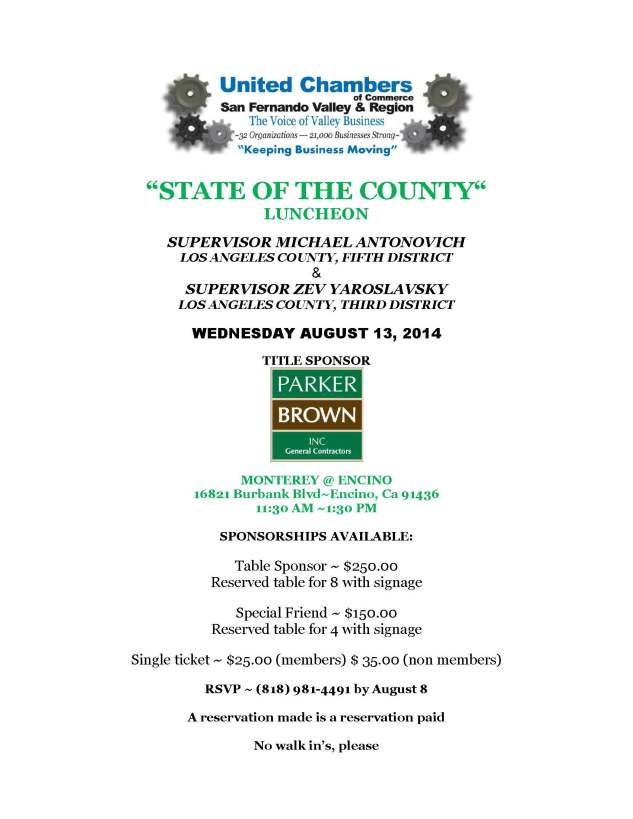 State of the County Aug 2014