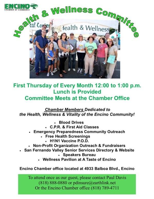 H & W Committee Flier - PD 2014