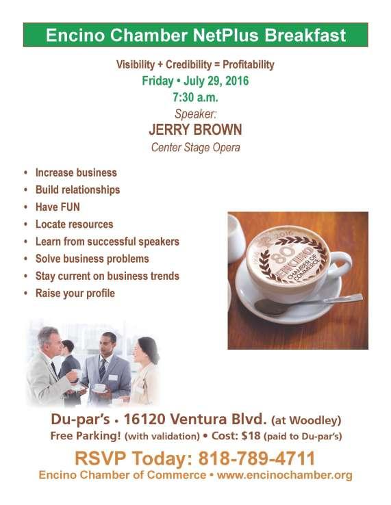 Revised Breakfast Flyer - July '16