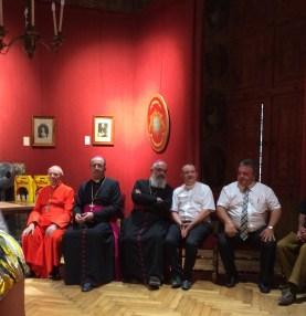 Réception en mairie de Valréas